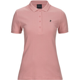 Peak Performance W's Classic Pique Shirt Warm Blush